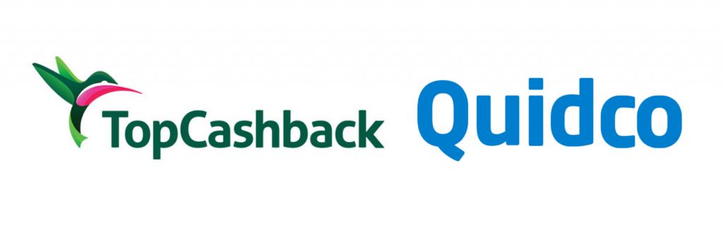 TopCashback and Quidco logos