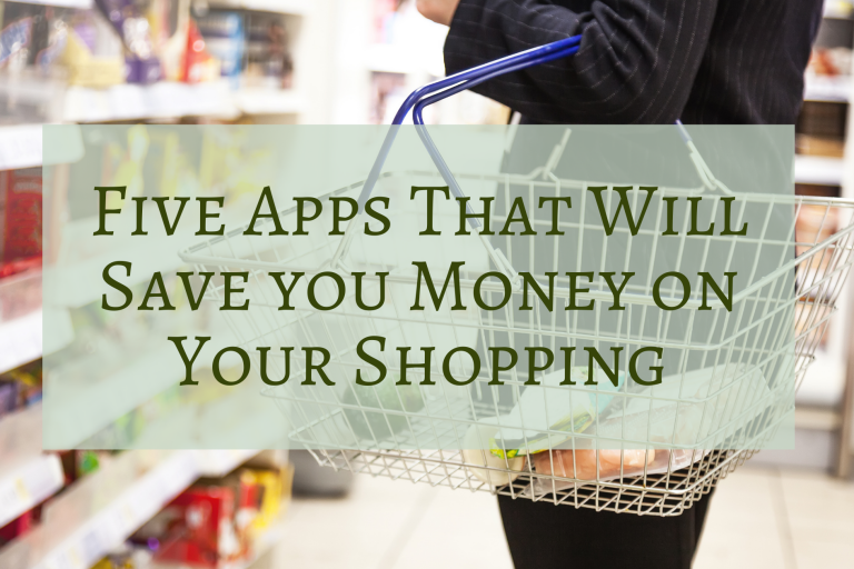 Five Apps That Will Save You Money on Your Shopping