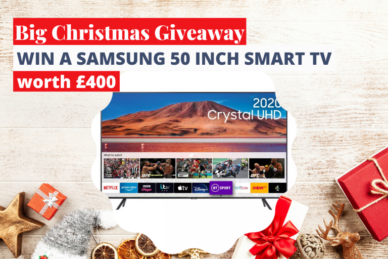 Win a Samsung 50-inch Smart TV This Christmas